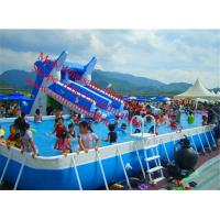 Cheap outdoor swimming pool  above ground pool water slide  inflatable slide for inflatable pool for sale