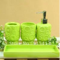 Cheap bathroom accessories gift suit with 8100(8pcs) for sale