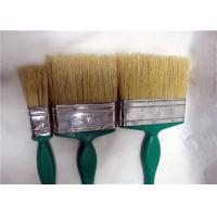 Plastic Handle Wall Cleaning Flat Paint Brushes For Decorating , Ceiling Paint Brush