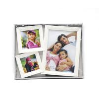 Cheap White Gallery Wall Picture Frames , Eco Friendly Large Multi Photo Frames for sale