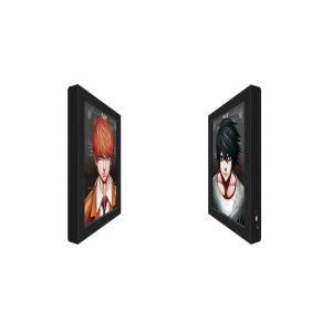Cheap Lenticular Light Box Advertising,3D Lenticular Flip Poster With LED Light Box for sale