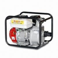 China Gasoline Water Pump, 6.5HP Engine Model, Single-cylinder, Vertical, 4 Strokes Air Cooled Gasoline on sale