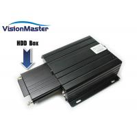 Cheap 2TB HDD GPS Mobile DVR , 1080P Digital Video Recorder H.264 8 Channel DC 8~36V for sale