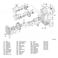 parallel shaft helical gear reducer    gearbox    speed