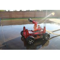 Buy cheap All Terrain Autonomous Firefighting Robot Fast Tire With Remote Control from wholesalers