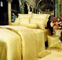 Buy cheap 100% Luxury Mulberry Silk Jacquard Bedding Set (GE-100016) from wholesalers