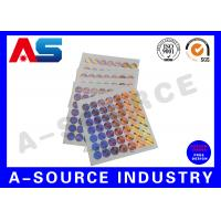 Holographic Sticker Printing , Custom Holographic Stickers For Chemical Box