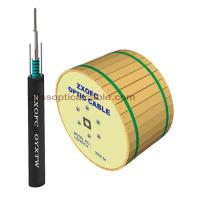 Cheap Duct Aerial Direct Burial Fiber Optic Cable Single Mode GYXTW 4 6 8 12 Core for sale