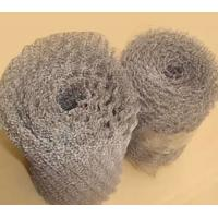 China 0.28mm Thickness Crimped Stainless Steel Knitted Wire Mesh Filter For Farm Fence on sale