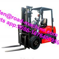 Cheap HELI Brand CPD20S Chinese / Japan Engine 2 Ton Electric Forklift 3 Wheel Forklift for sale