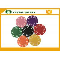 Cheap Professional Heart Casino ABS Poker Chips For Playing Game Set for sale