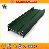 Powder Coated 6005 6005A Aluminum Alloy Profiles / Heat Transfer Plates for sale
