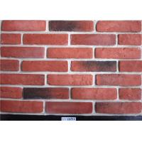 Cheap Red Classical Faux Exterior Brick Solid Surface Acid Resistance For Construction wholesale