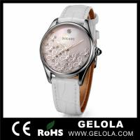 Cheap 2014 Custom Fashion Women Stainless Steel japan movt wrist Watch for sale