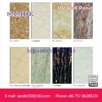 China Colorful Wall Paintings Decoration Fibre Cement UV Wall Board 2440*1220*6/8/9mm on sale