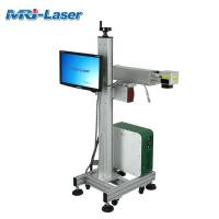 Cheap 100,000 Hours Working Flying Laser Marking Machine Customized Engraver for sale