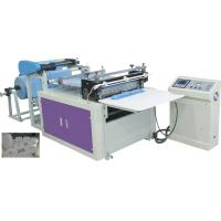 China PLC Control Non Woven Fabric Roll Cutting Machine Machine Color Customized on sale