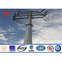 Cheap Round Tapered Electrical Transmission Line Poles For Overhead Line Project for sale