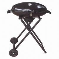 Buy cheap 26'' Deluxe Kettle Charcoal/Trolley BBQ Grill for Sale, Sized 67 x 42 x 91cm from wholesalers