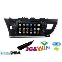 China Pure Android for Toyota DVD GPS Car Radio with FM AM RDS DVR rear view camera on sale