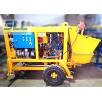 Cheap Diesel Engine Concrete Pumping Equipment With Concrete Hose 15m3/H Output for sale