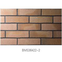 Cheap Low Water Absorption Exterior Thin Brick Durable For Real Estate wholesale
