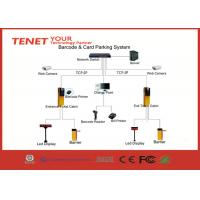 TCP IP network Paper Barcode Ticket Parking System