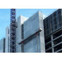 Buy cheap Mast Climbing Type Long Aerial Work Platform , Twin Tower Mast Climber from wholesalers