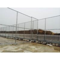 Cheap Anti Climbing Security Chain Link Fence , Chain Link Wire Mesh Fence For Factory Site for sale