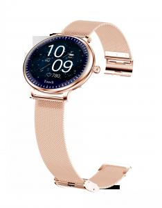"""Cheap Ladies Round Screen 1.08"""" Blood Pressure Heart Rate Smart Watch for sale"""