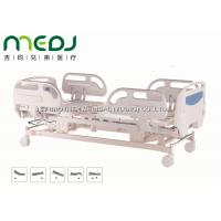 Cheap Electric ICU Hospital Bed Healthcare MJSD04-04 ABS Guardrail With 5 Functions for sale