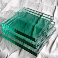China Outdoor Glass Building Material Solid 8mm Toughened Glass For Doors on sale