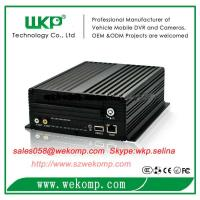 Cheap 4 channel HDD MDVR 3g gps wifi optional real-time monitoring support 4 cameras for sale