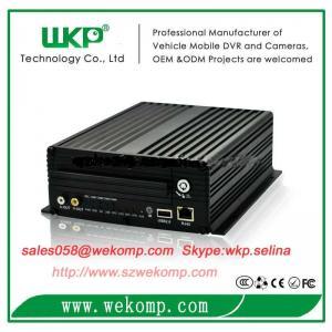 Cheap 4 channel mini alarm HDD MDVR surveillance usb 2.0 3g gps wifi optional for sale