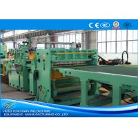 China Blue Colour Cut To Length Line 100m / Min Cutting Speed High Efficiency on sale