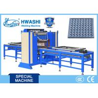 Buy cheap HWASHI Ten Head Automatic Steel Steel Spot Welding Machine with Three Phase DC Power Source from wholesalers