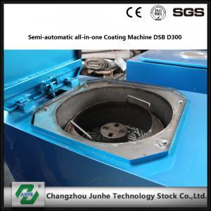 Semi Automatic Metal Coating Line / Zinc Flake Coating Machine Max Capacity 400kg/H