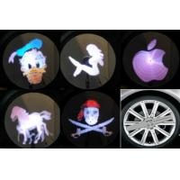 Cheap Auto LED lighting On-wheel with Imaging System  car led Image light Very cool for sale