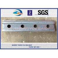 Cheap BS80A ASTM and DIN Railroad Joint Bars Railway Fish Plate With 4 Hole , 6 Hole for sale