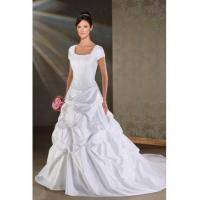 Cheap SUMPTUOUS SUMPTUOUS FORMAL WEDDING DRESS WITH SHORT SLEEVES for sale