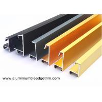 China Anodized Brushed Metal Picture Frames Wholesale / Photo Or Snap Frame Mouldings on sale