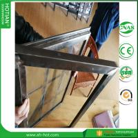 Cheap 2017 Latest Design Steel Security Windows Steel Fixed Grid Window for sale