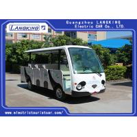 Cheap 14 Seater Electric Shuttle Car Equipped With Effective Shock Absorb With Door for sale