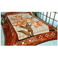 Buy cheap Printed Breathable Acrylic Mink Blanket Sheet Woven For Cool Season , Soft Mink Blanket from wholesalers
