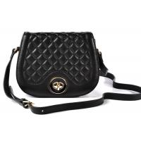 quilted genuine black leather crossbody bags handbags