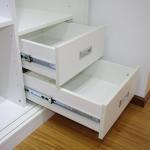Cheap KeLa brand SD-4510 full extention/telescopic three-fold steel ball bearing drawer rail/drawer slide for sale