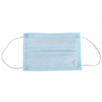 Cheap FDA OEM Anti Dust 10pcs/Bag Disposable 3 Ply Earloop Mask for sale