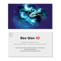 Cheap Durable 3D Lenticular Business Card Printing Animation Effect For Promotion for sale