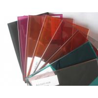 China Opaque Laminated Safety Glass Tinted Pvb Interlayer Laminated Glass on sale