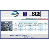 High Quality GB Standard P43KG GB43 Railway Steel Rail According GB2585-2007